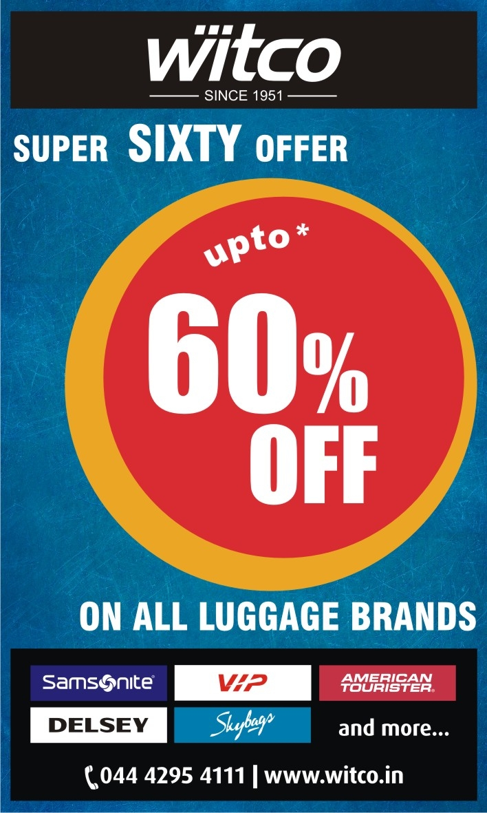 Witco-Upto 60% Offer